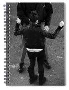 Hands Up Spiral Notebook
