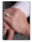 Hands With Wedding Rings Spiral Notebook