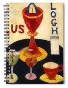 Handsome Drinks Spiral Notebook