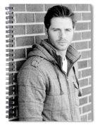 Handsome Man Spiral Notebook