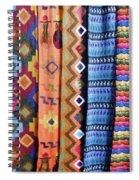 Handwoven Spiral Notebook