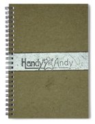 Handy Andy Wrench Spiral Notebook