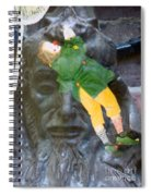 10079 Hang On There Spiral Notebook