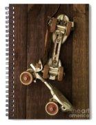 Hang Up Your Skates - Oil Spiral Notebook