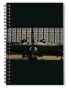 Hangar B Floyd Bennett Field Spiral Notebook