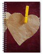 Hanged Heart Spiral Notebook