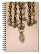 Hanging Beaded Votive Abstract 5 Spiral Notebook