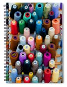 Hanging By Many Threads Spiral Notebook