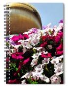 Hanging Flowers 6720 Spiral Notebook