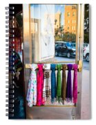 Hanging Out By The Door Spiral Notebook
