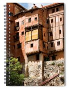 Hanging Red Houses Spiral Notebook