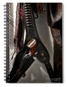 Hanging Revolver Spiral Notebook