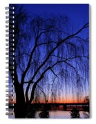 Hanging Tree Sunrise Spiral Notebook