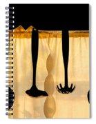 Hanging Utensils 2 Spiral Notebook