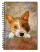 Hankie A Corgi And Westi Mix Cute Dog Spiral Notebook