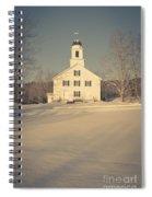 Hanover Center Church Etna New Hampshire Spiral Notebook