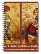 Hansel And Gretel Brothers Grimm Spiral Notebook