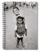 Happiness In India Spiral Notebook
