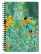 Happiness Is In The Meadows Spiral Notebook