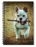 Happiness Is Spiral Notebook