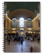 Happy 100th Birthday Grand Central Terminal Spiral Notebook