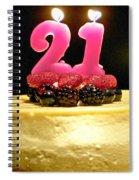 Happy 21st Birthday Spiral Notebook