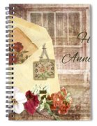 Happy Anniversary Mom And Dad Spiral Notebook