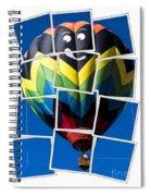Happy Balloon Ride Spiral Notebook