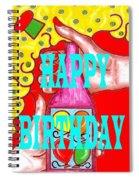 Happy Birthday 1 Spiral Notebook