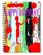 Happy Birthday 7 Spiral Notebook