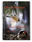 Happy Birthday Big Boy Spiral Notebook