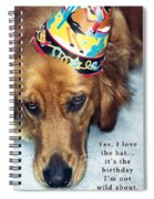 Happy Birthday Buddy  Spiral Notebook