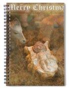 Happy Birthday Jesus Spiral Notebook