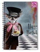 Happy Birthday Spiral Notebook