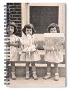 Happy Birthday Retro Photograph Spiral Notebook