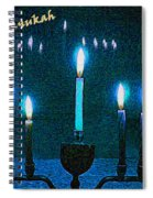 Happy Chanukah Spiral Notebook