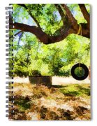 Happy Childhood Memories Spiral Notebook