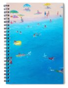 Happy Days At The Seaside Spiral Notebook