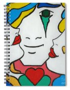 Happy Days Spiral Notebook