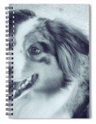 Happy Dog Spiral Notebook