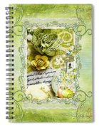 Happy Easter 3 Spiral Notebook