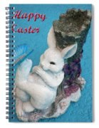 Happy Easter Card 7 Spiral Notebook