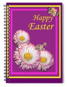 Happy Easter Hiding Bunny Spiral Notebook