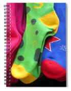 Wear Loud Socks Spiral Notebook