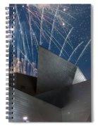 Happy Fourth Spiral Notebook