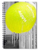 Happy Freezing Birthday Spiral Notebook