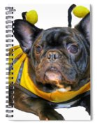 Happy Halloween Card Spiral Notebook
