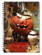 Halloween This Way Spiral Notebook