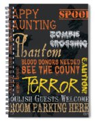 Happy Haunting Spiral Notebook