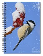 Happy Holidays... Spiral Notebook